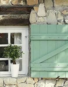 Farbe Betonoptik Für Holz : tolle ideen f r fensterladen ~ Buech-reservation.com Haus und Dekorationen