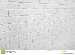 White, Brick, Wall, Angle, View, Abstract, Background, Photo, Stock, Image