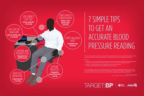In-office Measuring Blood Pressure Infographic   Target:BP