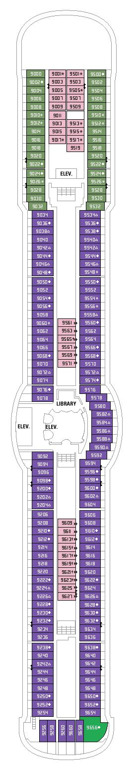 Radiance Of The Seas Deck Plan Pdf by Radiance Of The Seas New Deck Plans