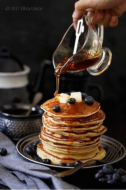 Pancakes Snack Pancake Amazing Recipes Syrup Banana