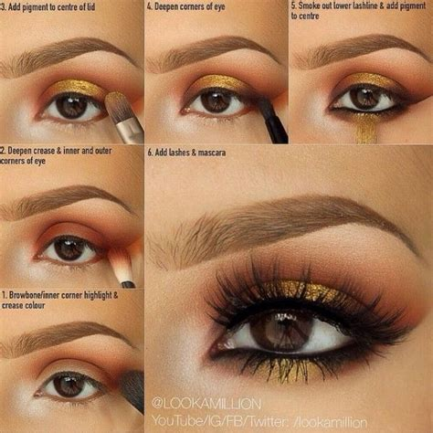 rust grunge makeup tutorial fashion   petition eye