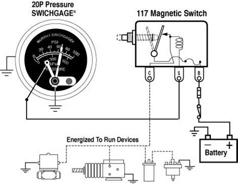 Vdo Marine Hour Meter Wiring Diagram by 20p 25p Series Fw Murphy Production Controls
