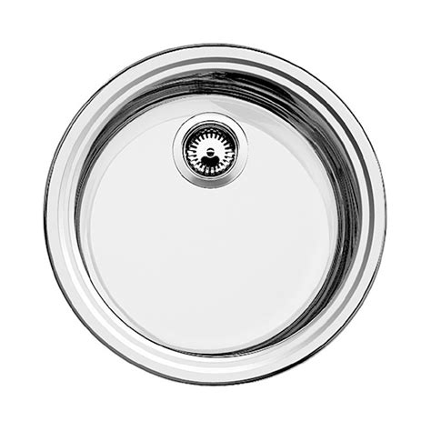 Blanco Sink Strainer Spares by Blanco Rondosol Sink 216 46 Cm Stainless Steel Brushed