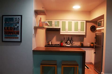 Small Kitchen Interior by Second Condo Project Is Finally Done Part 2 What Else