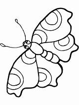 Butterfly Coloring Pages Via sketch template