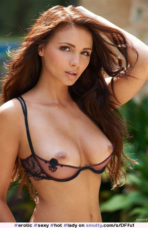 Erotic Sexy Hot Lady Beautiful Tits Half Cup Open