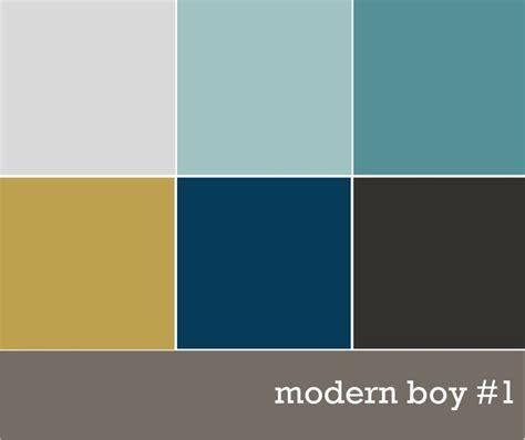 Modern Boys' Color Palette  Magazine  Pinterest Front