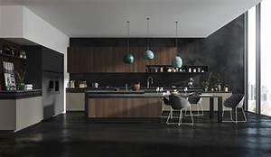 Une cuisine design empreinte de sensualité Modèle Rendez