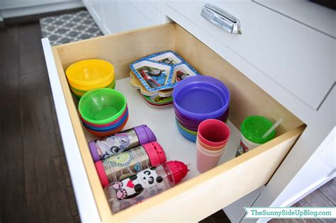 kitchen drawer organization ideas organized kitchen drawers and fridge the side up 4719