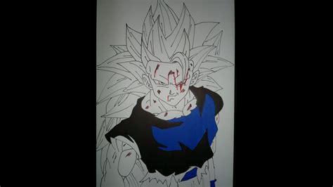 drawing goku ssj full bodyssj youtube