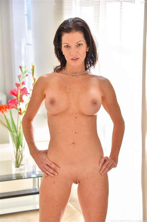 Horny Cougar Naked At Home