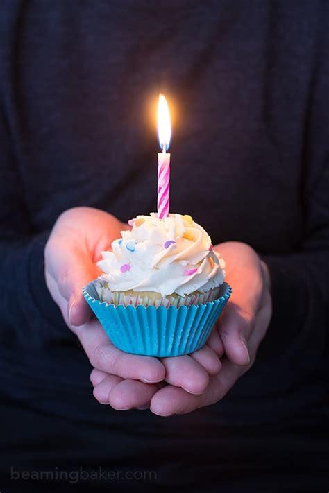 Birthday Cupcake Images Funfetti Birthday Cupcakes Beaming Baker