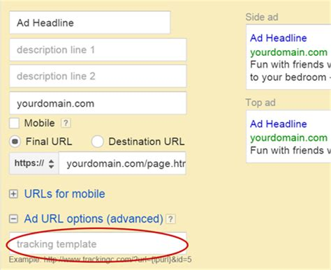 adwords tracking template improvely adwords tracking templates migration guide