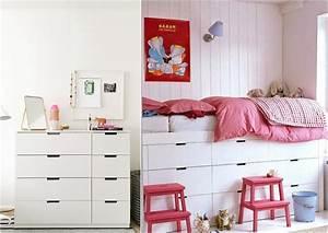 Hochbett Mit Zwei Betten : hochbett selber bauen mit ikea m beln betten mit stauraum ~ Whattoseeinmadrid.com Haus und Dekorationen