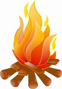 Campfire Clip Art | Campfire No Shadow clip art - vector ...