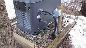 17 Kw Honeywell Automatic Standby Generator  U0026quot Exercising