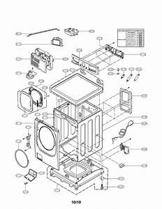 Lg Model Wm3875hvca Residential Washers Genuine Parts