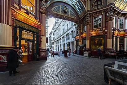 Potter Harry Market Leadenhall Locations Filming Visit