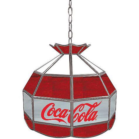 coca cola light fixture trademark global coca cola vintage red white gray 16