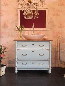 Badmöbel Shabby Chic : waschkommode shabby chic individuell gefertigtes einzelst ck ~ Orissabook.com Haus und Dekorationen