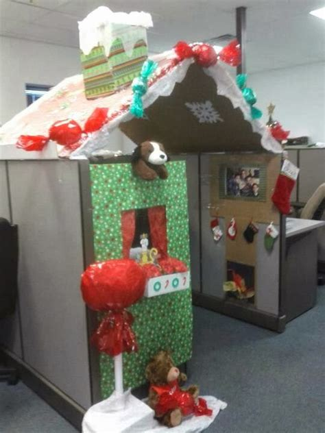Decorate Office Cubicles, Office Holiday Decor