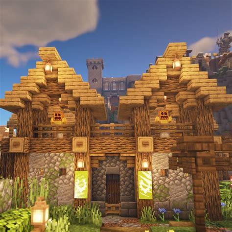 village gate design cute minecraft houses minecraft designs minecraft shaders