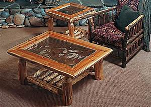 log end tables and coffee tables coffee table design ideas With log coffee table and end tables