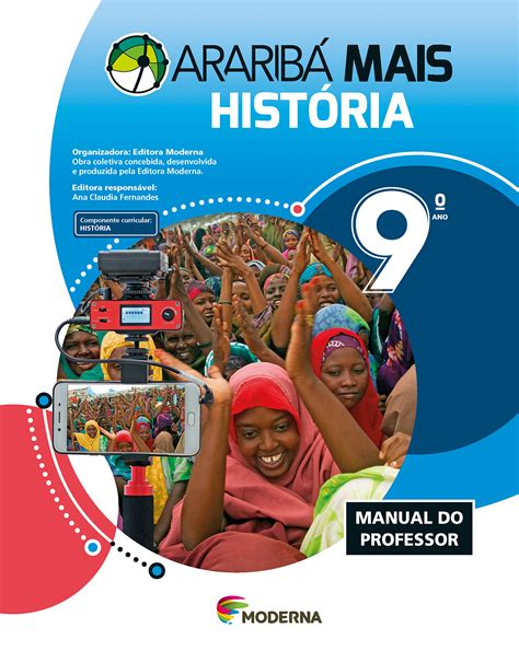 Araribá Mais História 9 | PNLD - Moderna