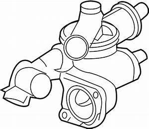 Dodge Avenger Engine Coolant Thermostat Housing  Cooling