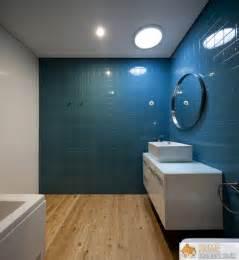Blue Tile Bathroom Ideas Modern Blue Bathroom Designs Ideas Home Highlight