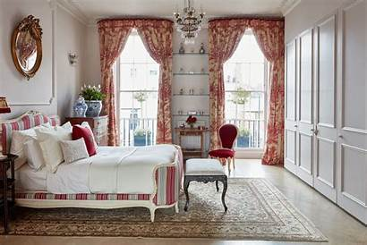 French Bedroom Decorating Romantic Homes Elegant Curtains