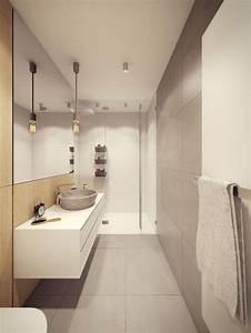 luminaire salle de bain suspension With carrelage adhesif salle de bain avec lampe sur pied à led