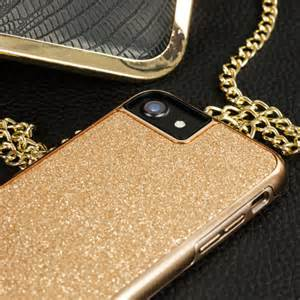 7 Rose Gold Glitter iPhone Case