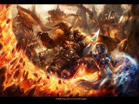 siege d orgrimmar siege of orgrimmar by mad on deviantart