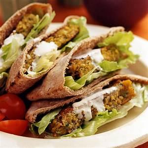 Baked Falafel Sandwich