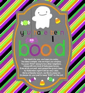 You've Been Booed Halloween