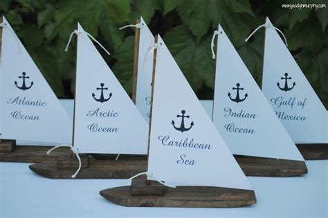 Boat Wedding Puns by Jac O Lyn Murphy Nautical Wedding Centerpieces To