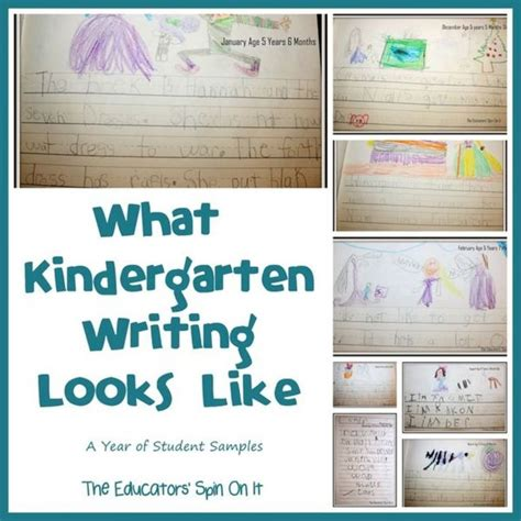 what kindergarten writing looks like a year of student 219 | 0f8415be27931ac7e91153c0b49c60cb