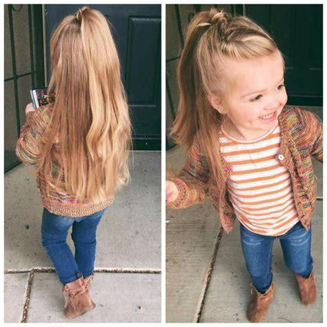 Half Up Half Down Hair Little Girl Hairstyles Little