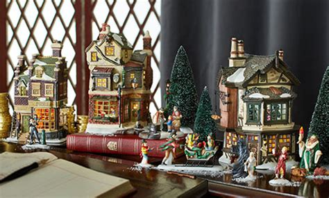 dickens  christmas story villages brands department