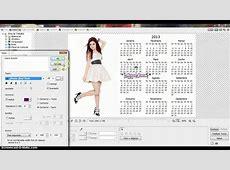 Como fazer Calendario no PhotoScape YouTube