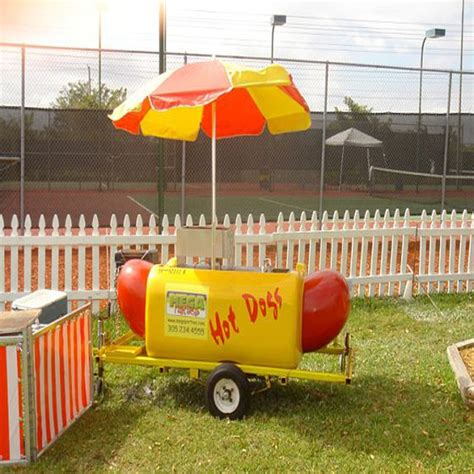 coolest hot dog cart rental  miami