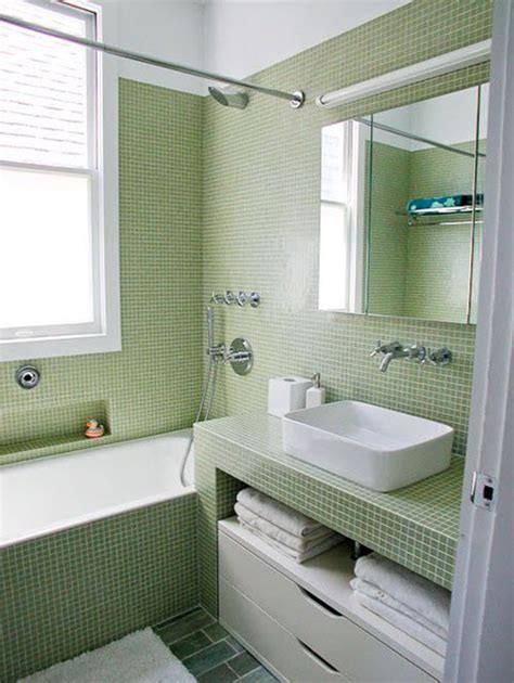 Light Green Bathrooms by 40 Light Green Bathroom Tile Ideas And Pictures