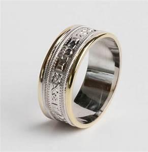 irish handcrafted claddagh celtic wedding ring 14k gold With handcrafted wedding rings