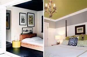Ideen Streichen Schlafzimmer : 22 bunte raumideen decke streichen und tapezieren ~ Markanthonyermac.com Haus und Dekorationen