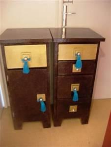 Resine Pour Meuble : meubles en carton pour salle de bain recouverts de r sine cr ation meuble en carton de ~ Carolinahurricanesstore.com Idées de Décoration