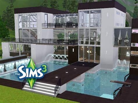Sims 3  Haus Bauen  Let's Build  Modernes Traumhaus Für