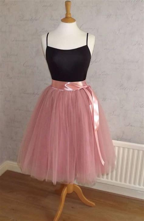 adults tutu tulle skirts pink grey white black