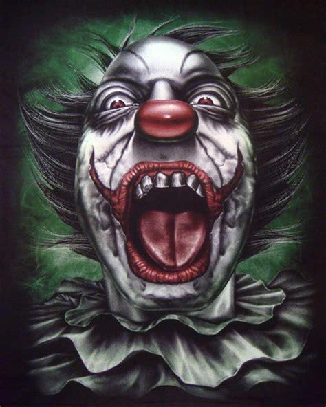 clown joker  shirt  shirts mens tattoo biker rock